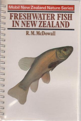 Fresh Water Fish in New Zealand, Mobil New Zealand Nature Series, for sale in New Zealand